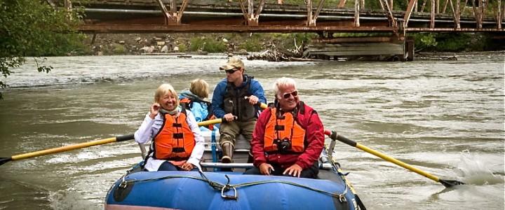 Rafting Down the Klehini and Chilkat Rivers