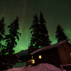 Swan View Cabin and Northern Lights