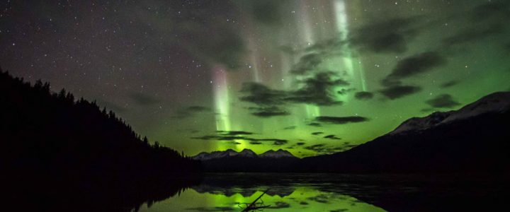 Northern Lights over Mosquito Lake