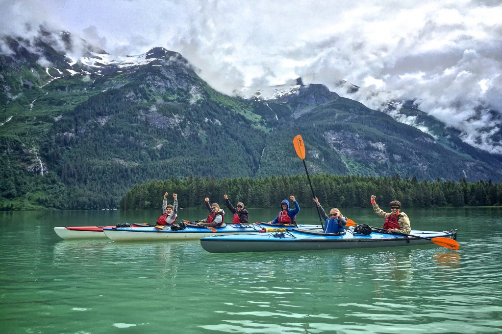 Chilkoot Lake Kayaking
